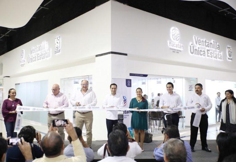 Inaugura El Gobernador Mauricio Vila Dosal Las Ventanillas